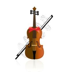violine vector image vector image