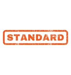 Standard rubber stamp vector