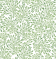 Seamless pattern with green vector