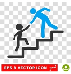 Education Steps Eps Icon vector image