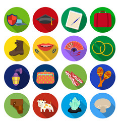 Rest tourism business and other web icon in flat vector