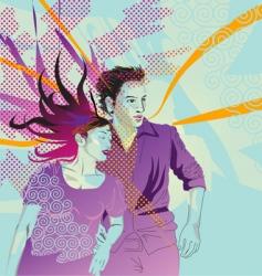 romance design vector image