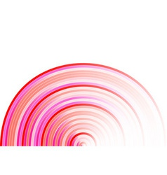 rose rounded backgroun on the white vector image