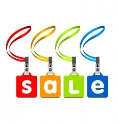 vector sale labels vector image