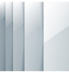 Abstract grey rectangle shapes vector image