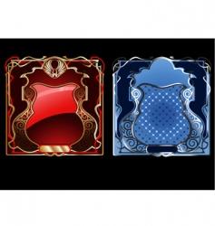 heraldry vector image vector image