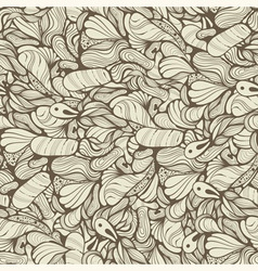 Seamless funky pattern vector