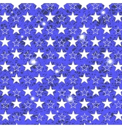 Starry grunge blue background vector