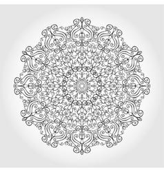 Mandala swirls backgroundTribalethnic pattern vector image vector image