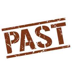 Past stamp vector