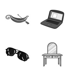 Travel crime and other monochrome icon in cartoon vector