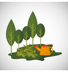 Natural and eco design vector