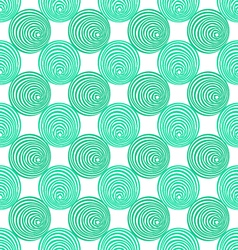 Seamless scroll patternspiral background vector image