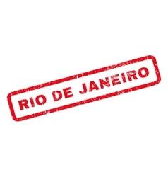 Rio de janeiro rubber stamp vector