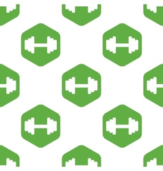 Barbell pattern vector