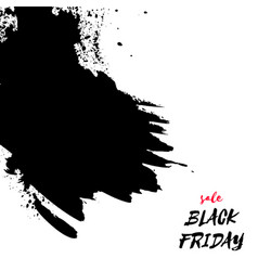 black friday sale watercolor texture background vector image