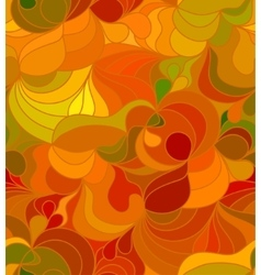 Floral background of hand drawn lines vector