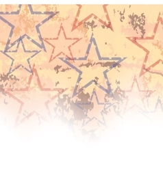 Starry grunge background vector
