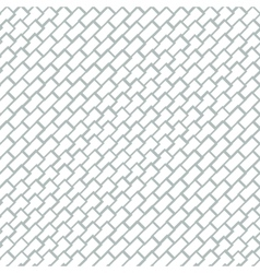 Geometric seamless pattern with brick texture vector image