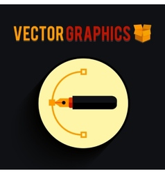 Graphics shape vector image vector image