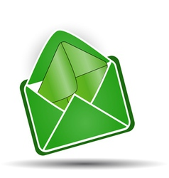 Mail in mail vector image vector image