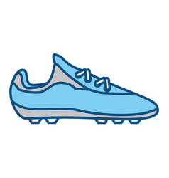 Soccer shoes footwear vector