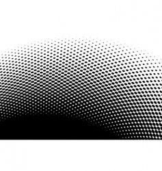 Halftone abstract vector