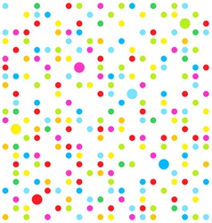 Seamless dots vector