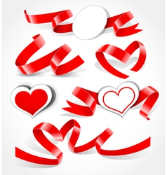elements to valentine s day vector image