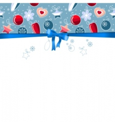 blue frame with contour balls vector image vector image