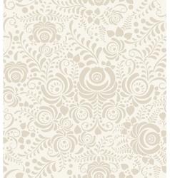 Floral vintage rustic seamless pattern vector
