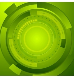 Green tech corporate abstract background vector