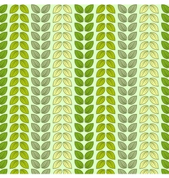 Seamless pattern with leaves in pastel colors vector