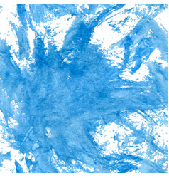 Deep water blue watercolor vector