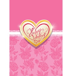 Card heart 2 380 vector