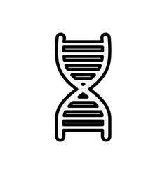 human dna science vector image