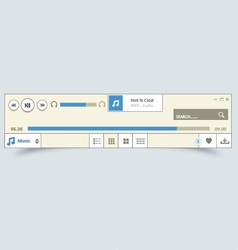 Music player 15 vector