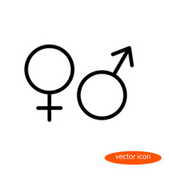 simple linear image of the symbols of vector image vector image