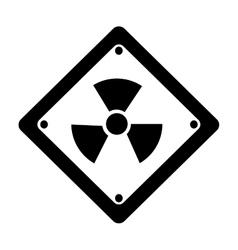 Toxic symbol icon image vector