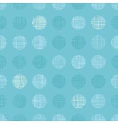 Vintage Pastel Blue bay Boy Dots Circles vector image