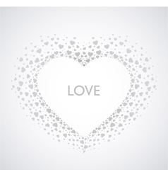 Decoration heart vector