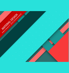 Abstract stripped background - material design vector