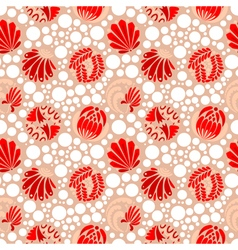 pattern with dots vector image