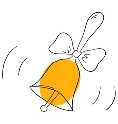 School bell vector image