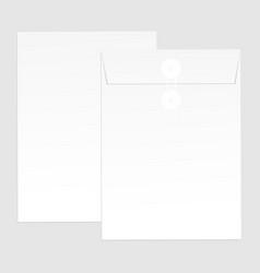 blank paper envelopes for your design vector image