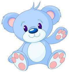 Toy bear vector