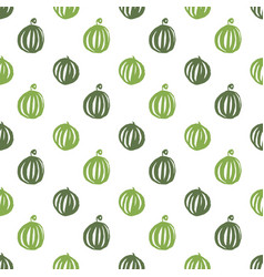 Watermelon food seamless pattern vector