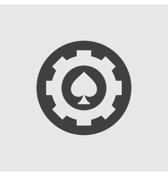Spades icon vector