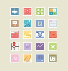 Web Icons 41 vector image