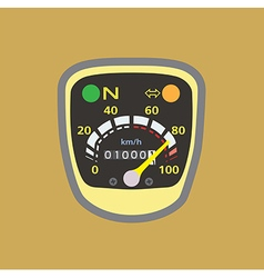 Miles speedometer y vector